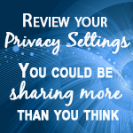 Privacy Settings image with text