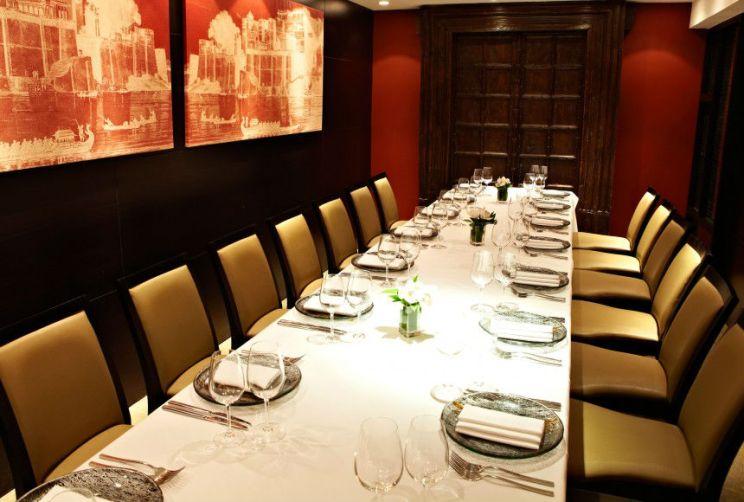 Berkeley Private Dining Room Benares Mayfair