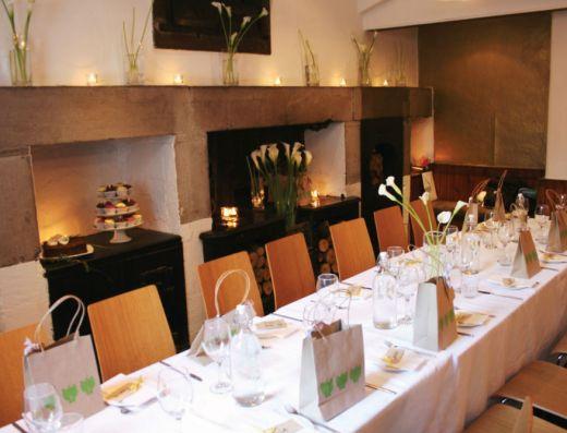 urban angel private dining room in Edinburgh