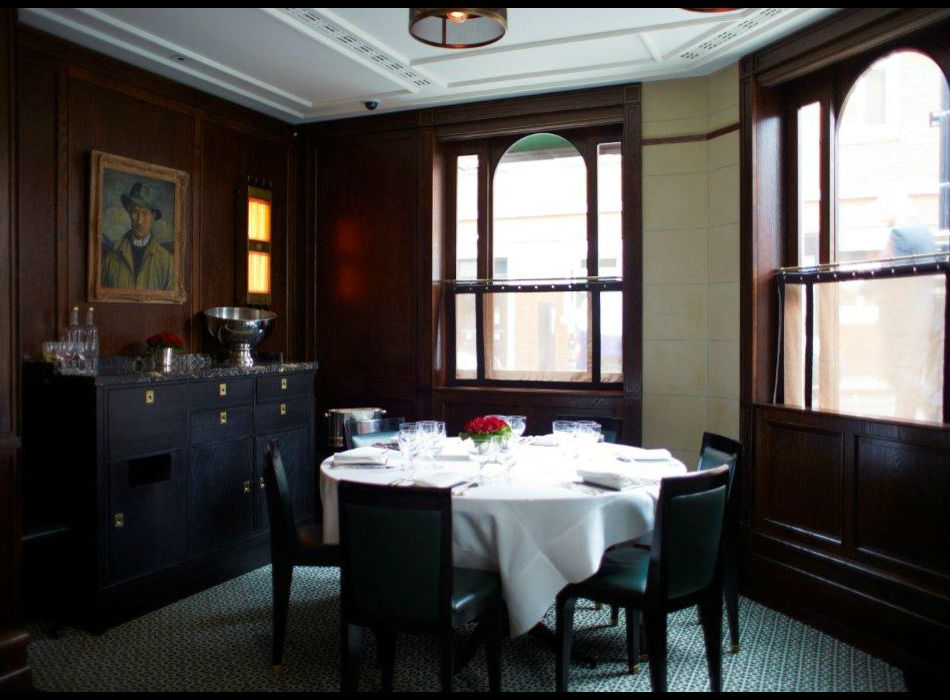 delaunay london dining room