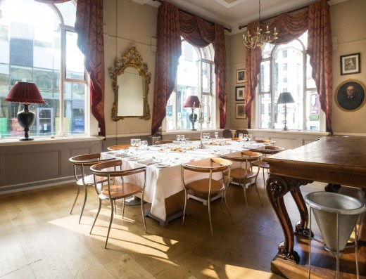 Private Dining Room Racquet Club Liverpool L3 9AG