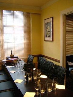 Calistoga Restaurant Private Dining Room Edinburgh