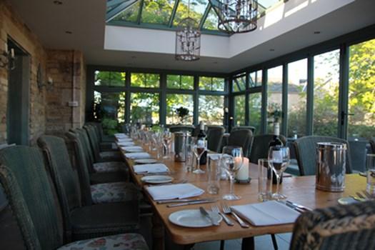 Falcon Inn Peterborough Private Dining Room