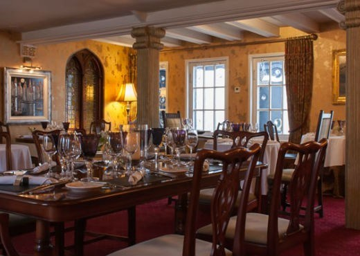 Private Dining at Horsehoe Inn Restaurant Edinburgh