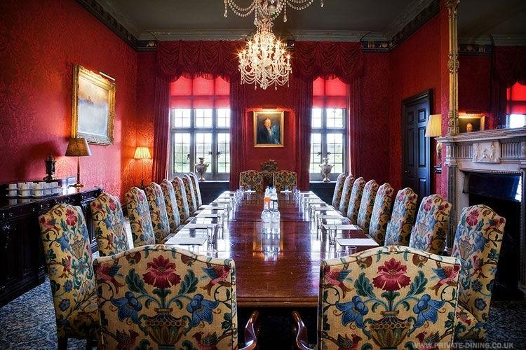 Stapleford Park Harborough Private Dining Room