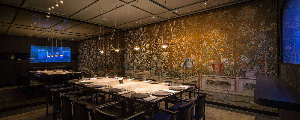 HKK Restaurant London Private Dining Room