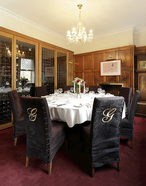 Griegs - Private Dining in the Wine Room