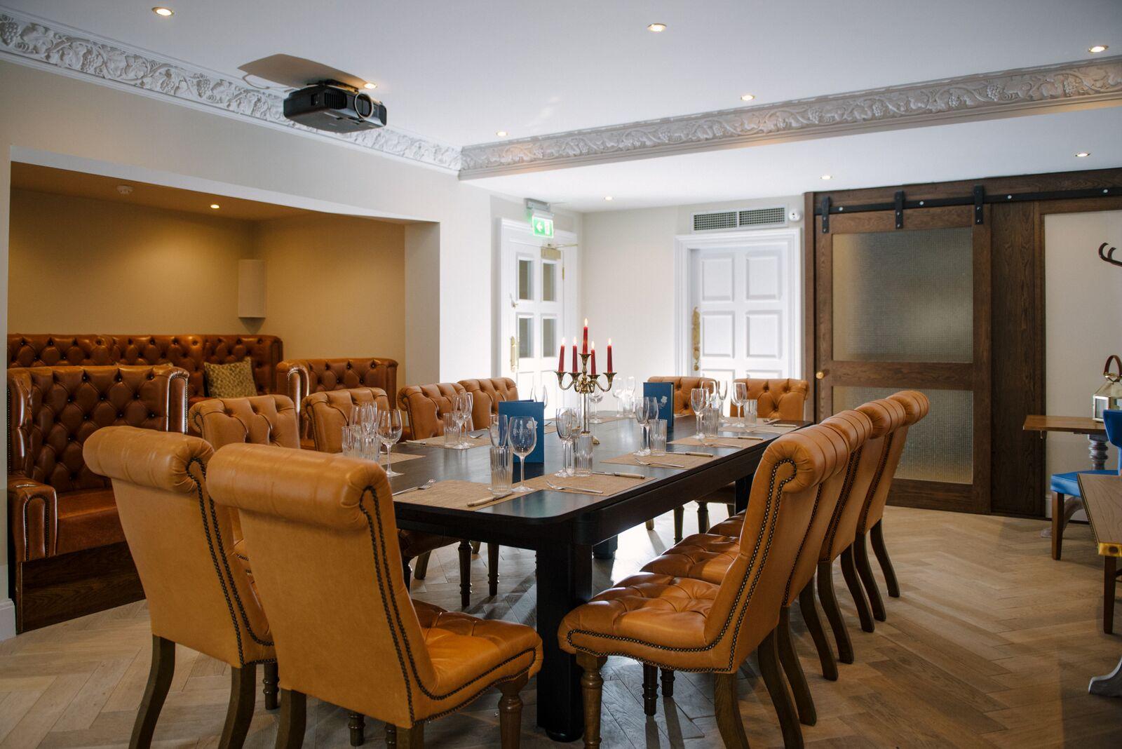 Badger & Co Private Dining Room Edinburgh EH2 3HT