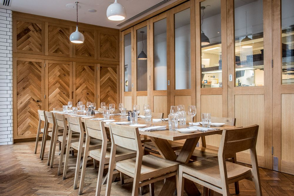 Toms Kitchen - Private Dining Room in Canary Wharf, London