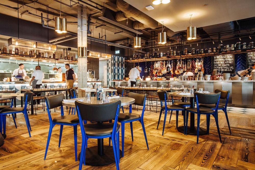 Jamie's Italian Restaurant - London Bridge