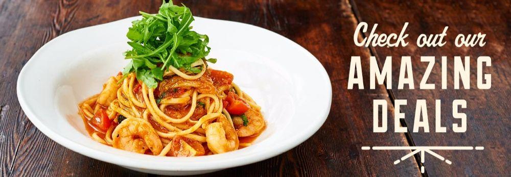 Restaurant Deals - Jamie's Italian Glasgow