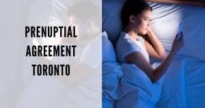Prenuptial -agreement- Toronto