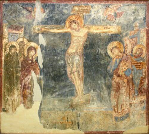 Serbian church paintings