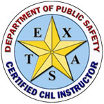 Certified CHL Instructor - Texas Department of Public Safety