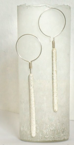 'Stave Earrings' R 790.00 (approx. EURO 52.00)