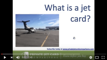 What is a jet card?