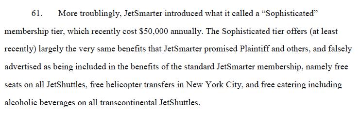 JetSmarter California lawsuit