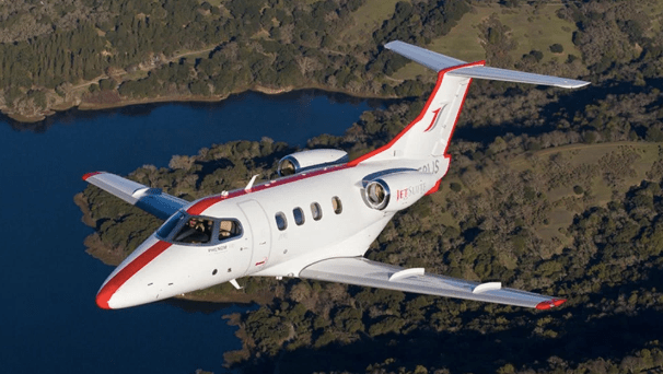 JetSuite Phenom 100 hourly rates