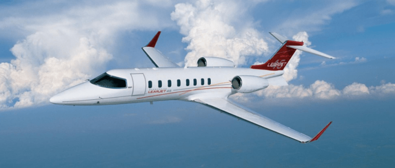 International Jet Wings Club jet card starting at $4,500 per hour