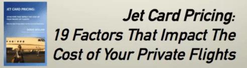 Private Jet Card Price