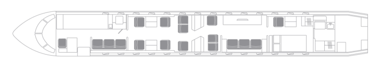 Global 7500 seat map