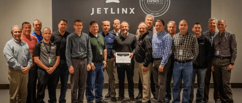 Jet Linx pilots Forbes Travel Guide