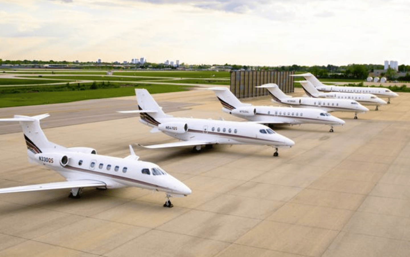 NetJets Fleet Update