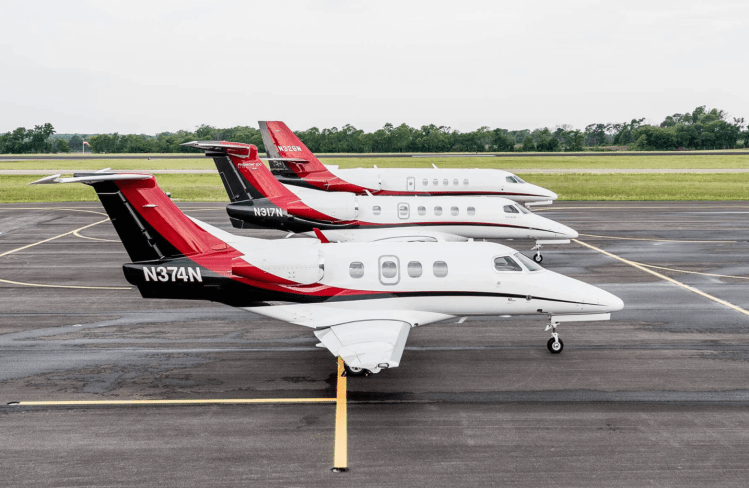 "Nicholas Air Phenom 100 and Phenom 300 - ""Nicole Kidman and Eli Manning's private jet? We go up in the air with Nicholas Air"" - As Featured on Private Jet Card Comparisons"