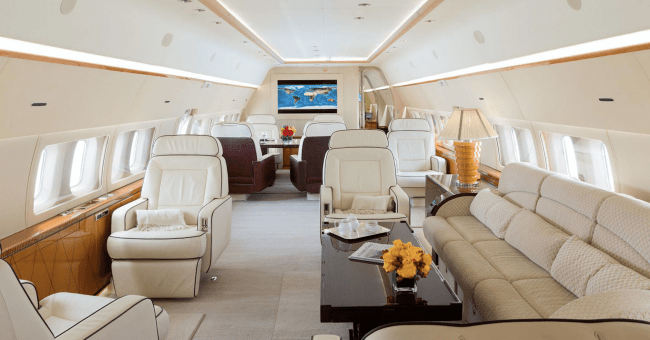 Boeing Business Jet charter
