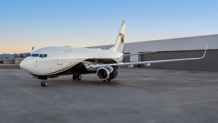 Boeing Business Jet rental