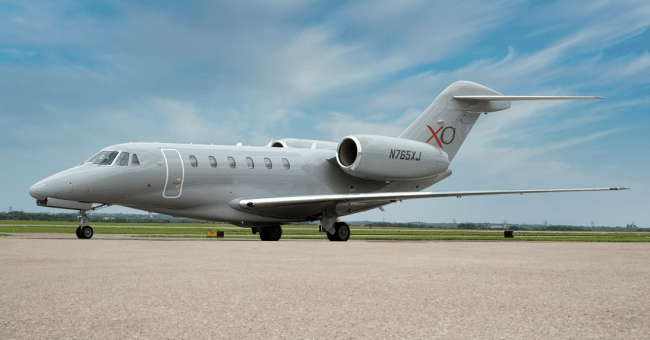XOJET luxury private jet vacations