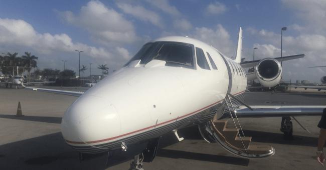 AINOnline.com private jet survey