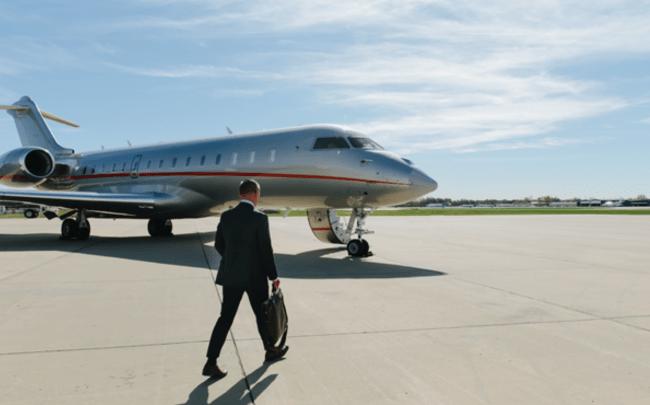 VistaJet private jets for business travel