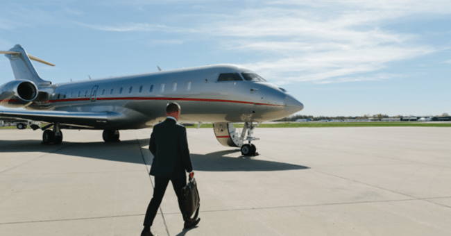 VistaJet private jets for business travel