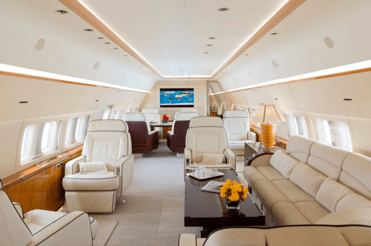 Silver Air Boeing Business Jet