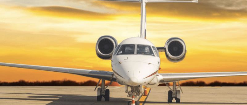 January 2021 private jet activity report