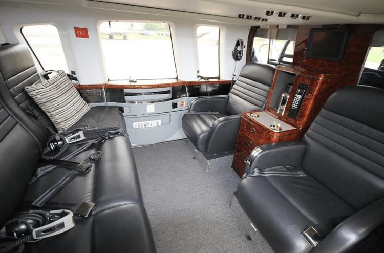S 76 interior