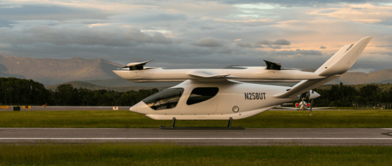 BETA ALIA Electric Vertical Aircraft