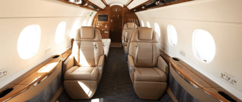 Legacy 500 interior