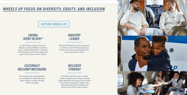Wheels Up diversity