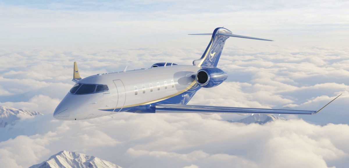 Airshare Challenger 350