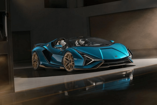 Lamborghini's Latest Wicked Roadster