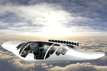 Hydrogen-Powered Flying Saucer Could Be the Electric Taxi in 5 Years
