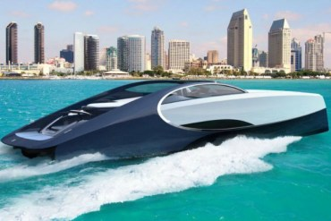 Yacht Designed by Bugatti