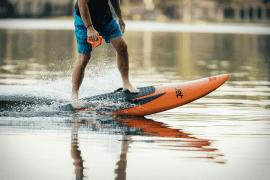 Electric-jet Surfboard is like the Tesla Roadster of the Seas