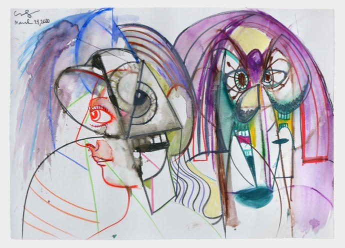 "George Condo's ""Together and Apart"" (2020)"