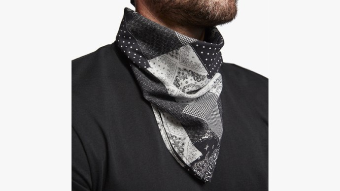 James Perse Patchwork Bandana