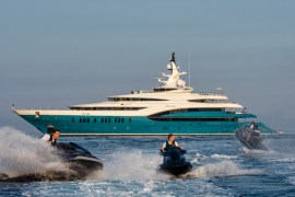 Inside a Rule-Breaking 279-Foot Superyacht With 3 Palatial Suites