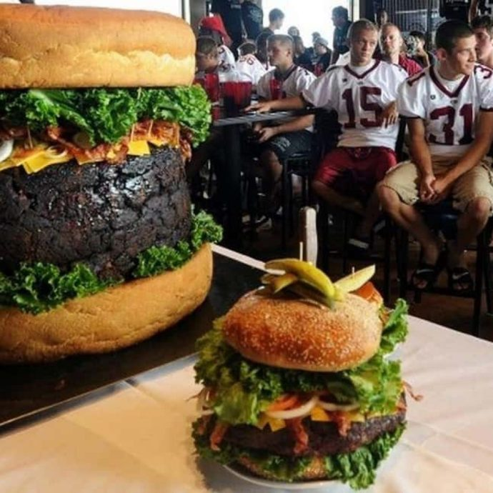 The Absolutely Ridiculous Burger – $1,999