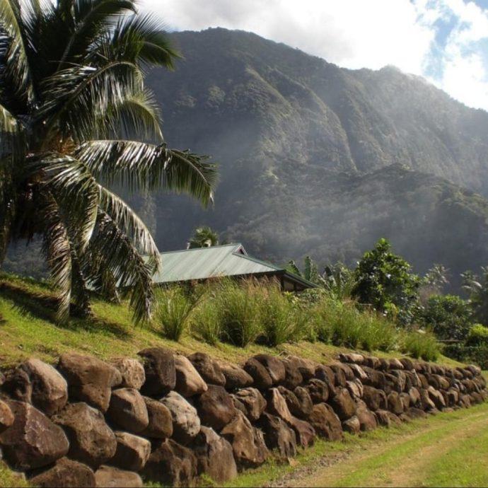 A fare (Hiva Oa, Marquesas Islands)